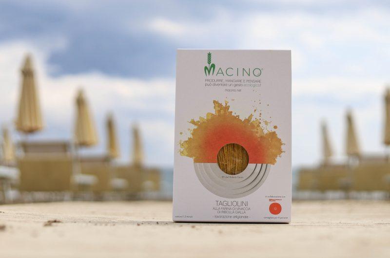 tagliolini alla Vinaccia di Ribolla gialla Macerata